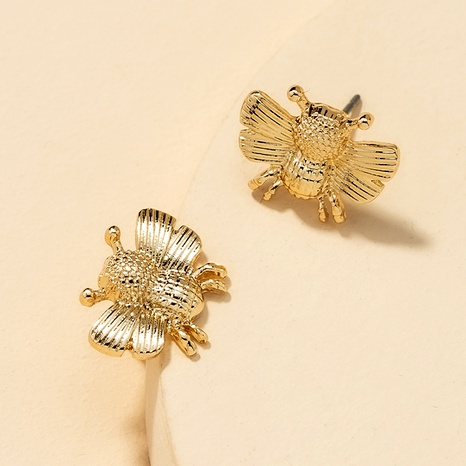 Fashion Bee Stud Earrings  NHGU290096's discount tags