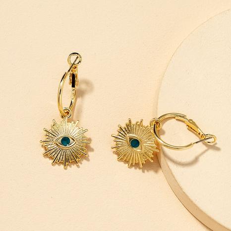 Fashion Metal Eye Earrings  NHGU290098's discount tags
