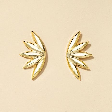 Fashion Metal Flower Earrings  NHGU290109's discount tags