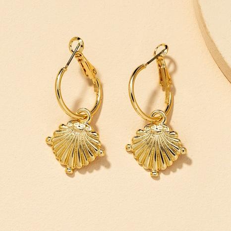 Fashion Metal Shell Earrings  NHGU290112's discount tags