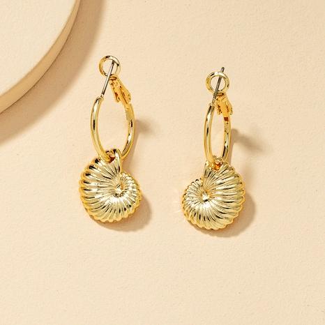 Fashion Metal Shell Earrings  NHGU290115's discount tags