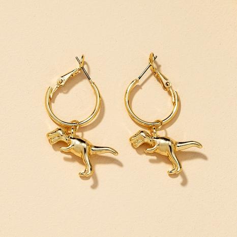 Fashion Alloy Dinosaur Earrings  NHGU290116's discount tags