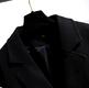 Plus size long woolen coat NHIS290125