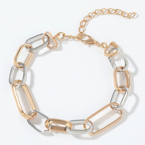 alloy gold and silver bracelet  NHJE293650's discount tags