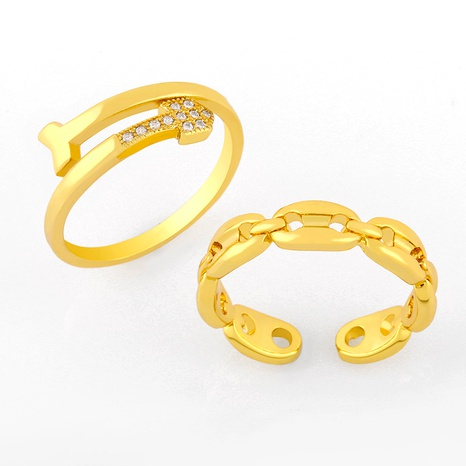 simple retro opening ring NHAS293699's discount tags