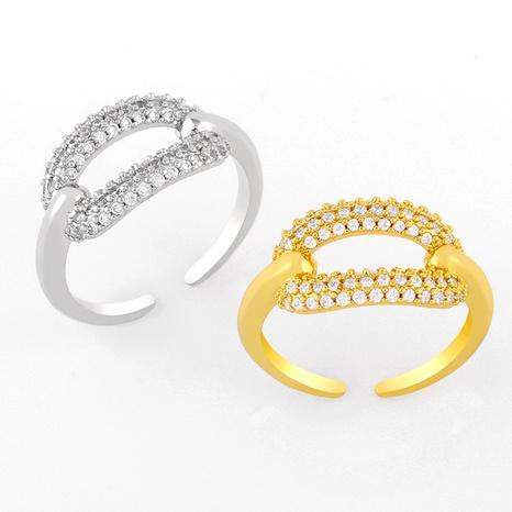 simple diamond-shaped geometric oval ring NHAS293707's discount tags