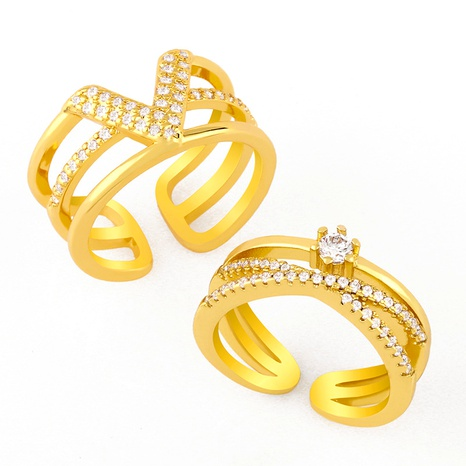 retro exaggerated ring NHAS293708's discount tags