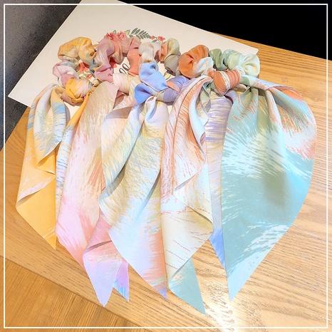 Gomas de pelo cuadradas anudadas con cinta coreana NHOF293722's discount tags