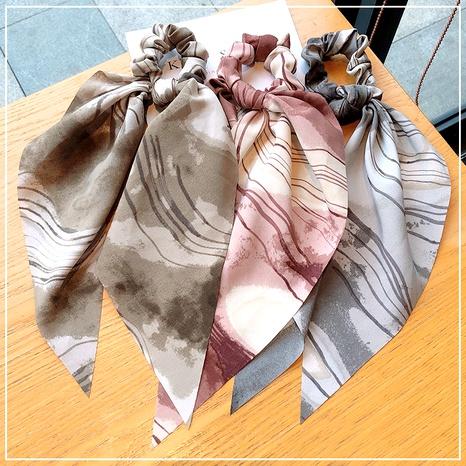 Scrunchies de pelo sencillos con lazo de satén coreano NHOF293724's discount tags