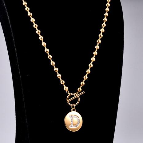 Collier diamant lettre D NHAB293764's discount tags