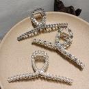 Korean cross pearl shark clip NHAR293939