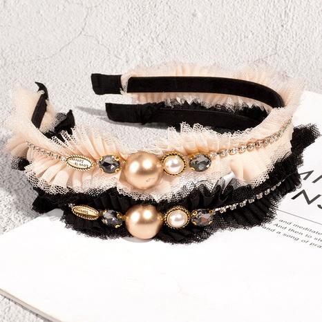 diadema de diamantes de perlas de moda NHAQ293955's discount tags