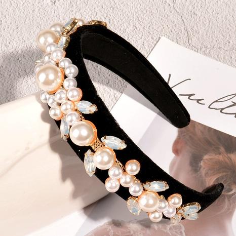diadema de perlas retro NHAQ293973's discount tags