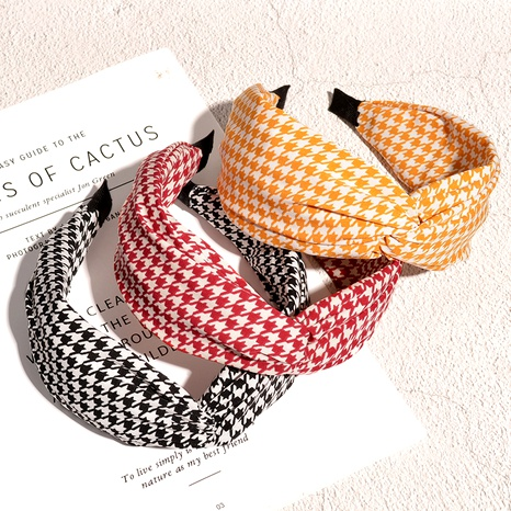 simple fashion wide-brimmed headband  NHAQ293980's discount tags
