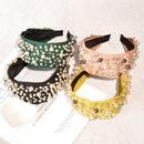 fashion pearl headband  NHAQ293989