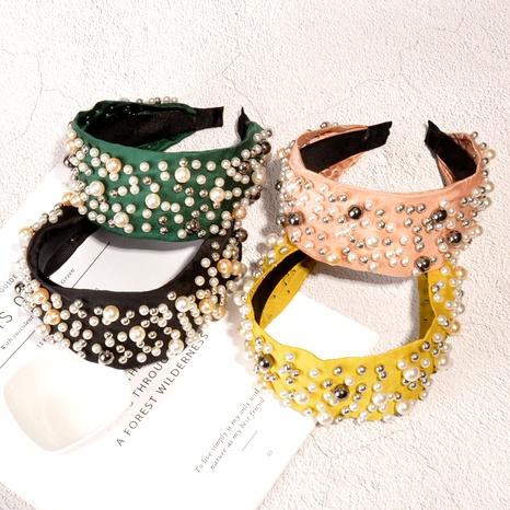 diadema de perlas de moda NHAQ293989's discount tags