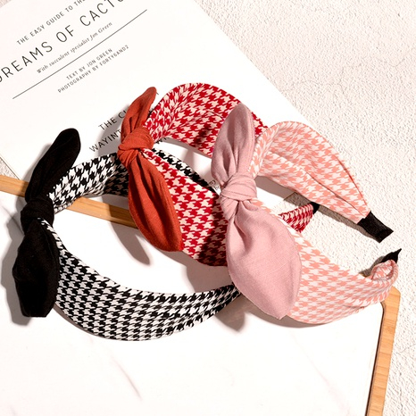 broad-sided bow headband  NHAQ294002's discount tags