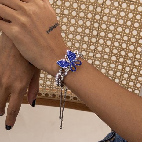 bracelet diamant rétro papillon NHXR294071's discount tags