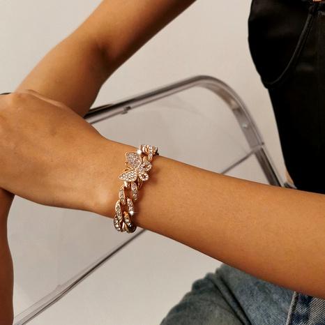 bracelet papillon rétro en diamant NHXR294075's discount tags