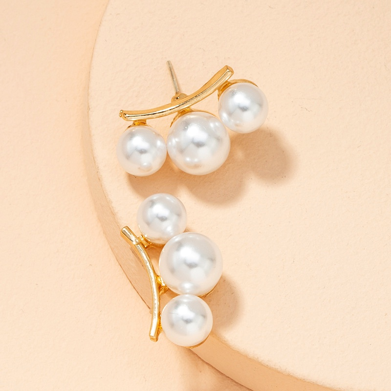 pearl pendant earrings NHAI294097