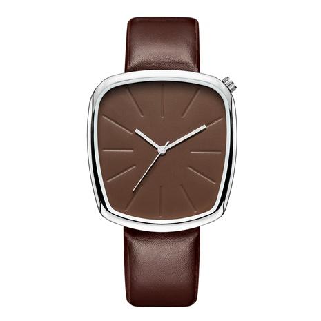 Reloj trapezoidal de cuarzo con cinturón de moda NHSY294119's discount tags