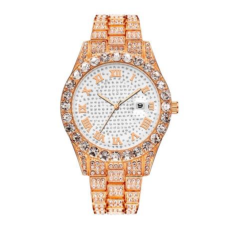 fashion rhinestone quartz steel band watch  NHSY294121's discount tags