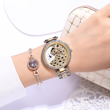 Reloj de moda con diamantes NHSY294128's discount tags