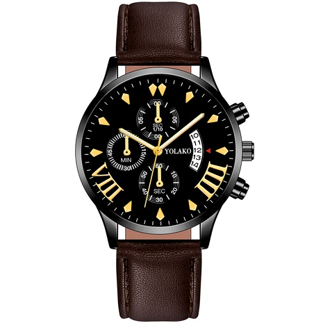 cinturón de moda calendario reloj de cuarzo NHSS294134's discount tags