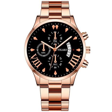 Reloj de cuarzo con banda de acero inoxidable de moda NHSS294137's discount tags