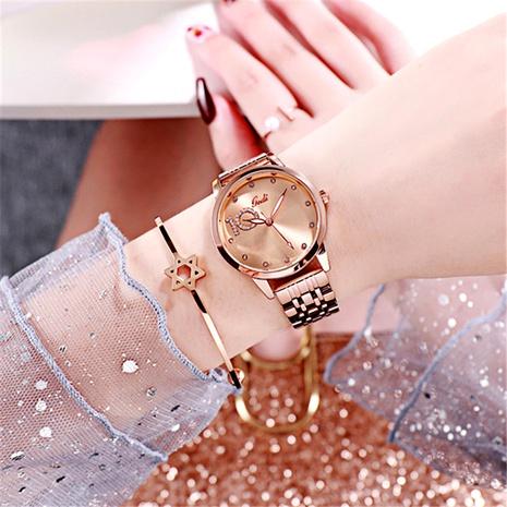 diamond fashion steel belt quartz watch NHSR294147's discount tags