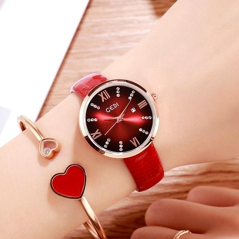 Diamond Calendar Quartz Watch  NHSR294166's discount tags