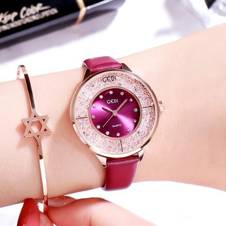 fashion diamond-studded watch NHSR294167's discount tags