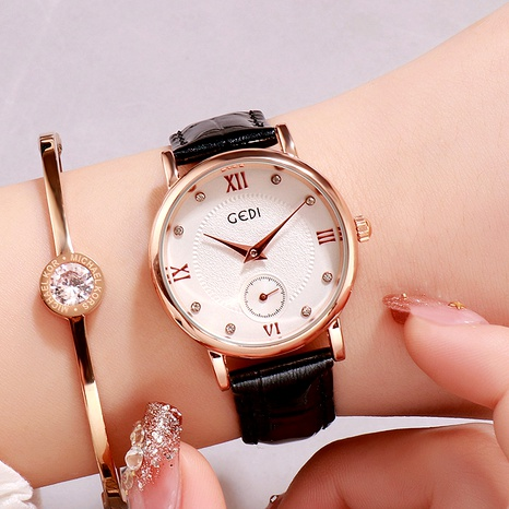 diamond-studded casual watch NHSR294174's discount tags