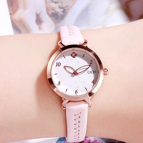 reloj redondo de moda simple NHSR294181's discount tags