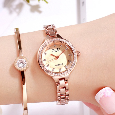 steel band diamond alloy watch NHSR294183's discount tags