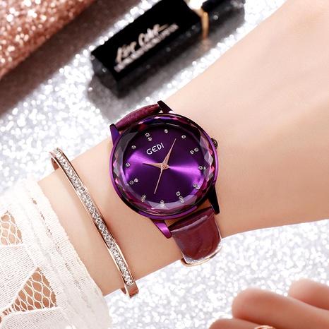 Fashion belt crystal glass watch NHSR294184's discount tags