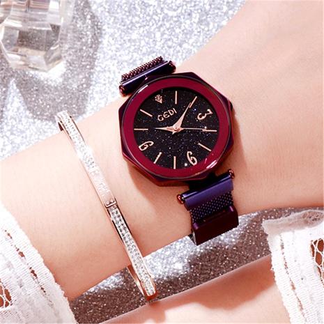 reloj impermeable con esfera grande de moda NHSR294187's discount tags