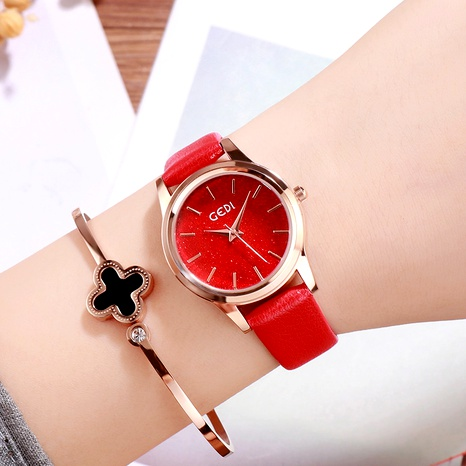 simple belt quartz watch  NHSR294194's discount tags