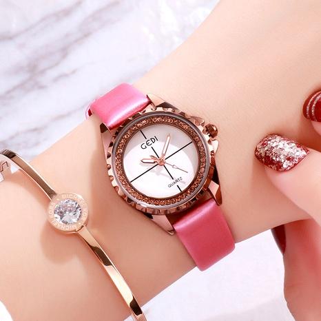 diamond fashion quartz watch  NHSR294199's discount tags