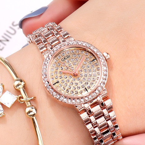 starry diamond fashion quartz watch NHSR294203's discount tags