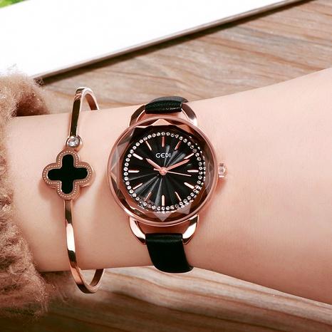 reloj de diamantes con espejo angular poligonal de moda NHSR294211's discount tags