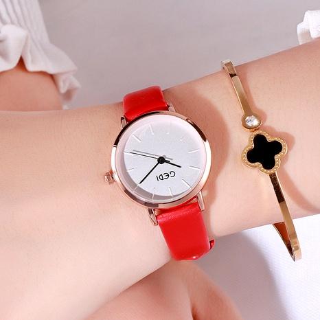 reloj casual con cinturón impermeable NHSR294216's discount tags