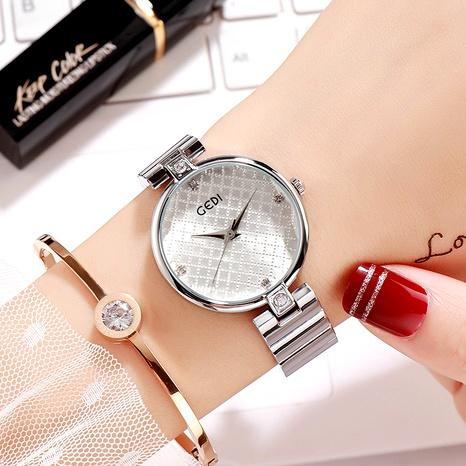 Steel belt fashion diamond-studded watch NHSR294215's discount tags