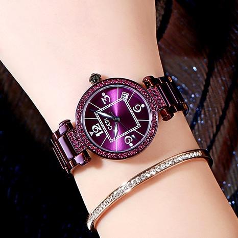 diamond retro fashion waterproof watch  NHSR294230's discount tags