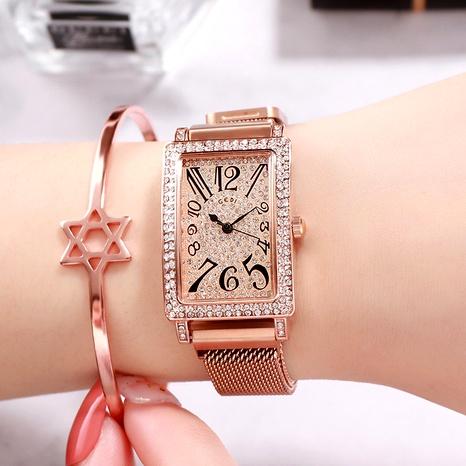 Diamond Square Watch  NHSR294236's discount tags