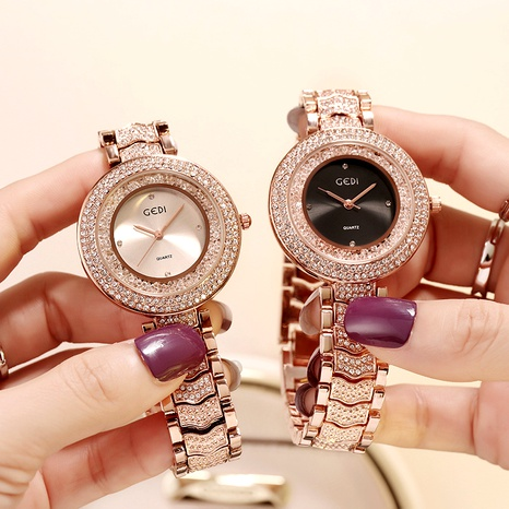 Diamond Gypsophila Fashion Watch NHSR294240's discount tags