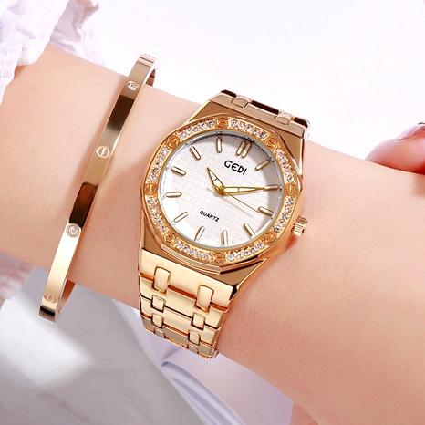 reloj de moda impermeable con diamantes NHSR294242's discount tags