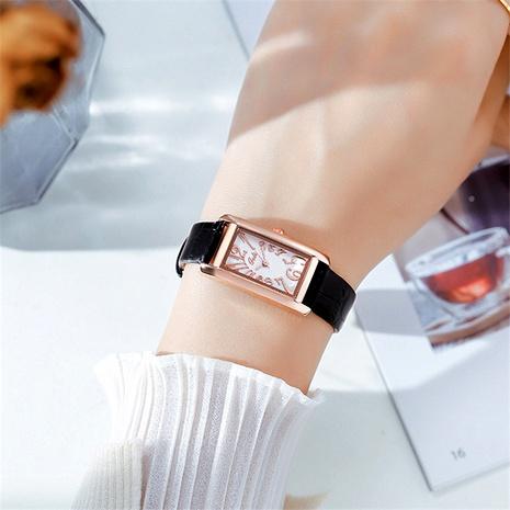 reloj de cuarzo rectangular retro de moda NHSR294250's discount tags