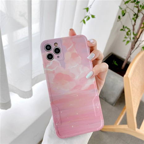 Sunset sky clouds iPhone11Promax mobile phone case for Apple 8plus silicone anti-drop SE2XR NHFI294261's discount tags