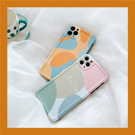 Korean simple color matching for iPhone11 Pro MAX Apple X couple 8plusXRXS  NHFI294283's discount tags